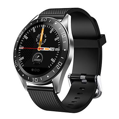 levne Pánské-Dámské Digitální hodinky Na běžné nošení Módní Černá Modrá Orange PU kůže Digitální Černá Oranžová Vodní modrá Voděodolné Bluetooth Smart 30 m 1 sada Digitální