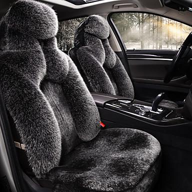 billige Interiørtilbehør til bilen-shangxiang vinter / dun bilpute vinter ny plysj plant-ned varmt sete sete set / for å holde varmen