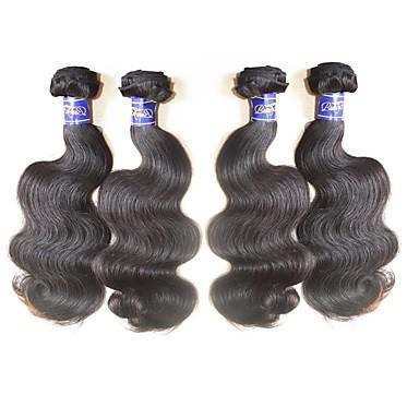 4 csomópont Perui haj Hullámos haj Szűz haj Kémiai anyagoktól mentes / nyers Az emberi haj sző 10