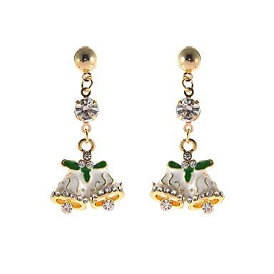 povoljno Modne naušnice-Žene Viseće naušnice Klasičan Zvono slatko Naušnice Jewelry Obala Za Božić 1 par