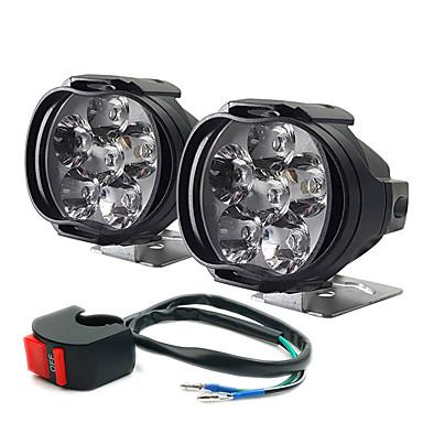 povoljno Motocikl Rasvjeta-električna automobilska svjetiljka vanjska motocikla dovela je do pucanja lakih automobila pomoćnih prednjih svjetala maglenke 2kom