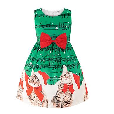 cheap Baby & Kids-Kids Girls' Christmas Dress Blushing Pink