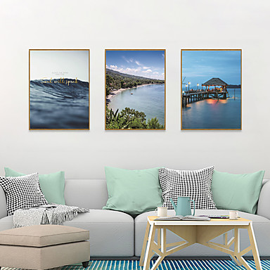 cheap Framed Arts-Framed Art Print Framed Set - Landscape Aquatic & Nautical PS Photo Wall Art