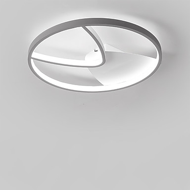 Vonalizzó Mennyezeti lámpa Háttérfény Festett felületek Fém Új design 110-120 V / 220-240 V Meleg fehér / Hideg fehér