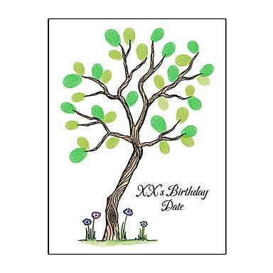 voordelige Feestbenodigdheden-Evenement / Feest / Verjaardagsfeest Feestaccessoires Op gespannen doek Met patroon Kangas Tuin Thema / Klassiek Thema / Nieuwe baby