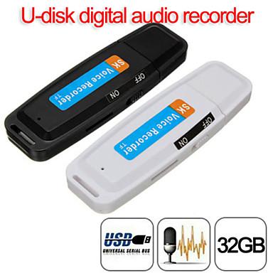 preiswerte Digitale Diktiergeräte-u-disk digital audio diktiergerät stift ladegerät usb flash drive bis zu 32 gb micro sd tf hohe qualität sk001