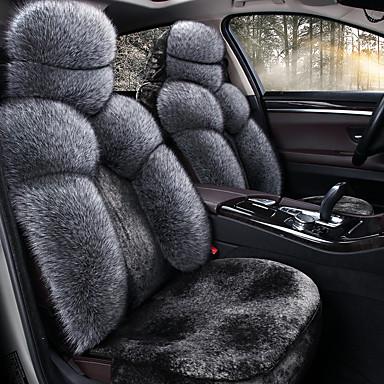 billige Interiørtilbehør til bilen-shangxiang plysj bilpute vinterplysj varm setetrekk setetrekk kompatibelt med kollisjonsputer 5 setetrekk med