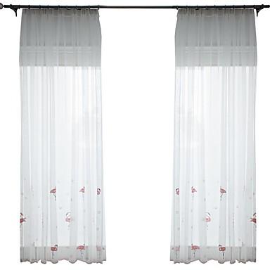Klasszikus Csipke Egy panel Hálószoba   Curtains