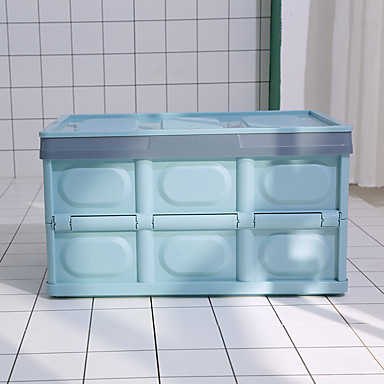 levne Organizéry do auta-pohodlný úložný box 43 * 30 * 23 cm vnitřní úložný prostor kufru do auta