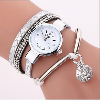 cheap Watches-Women's Wrap Bracelet Watch Quartz Leather Casual Watch Analog Casual