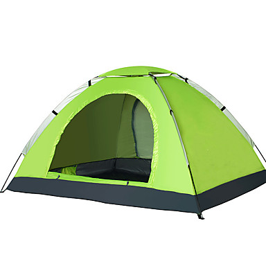 cheap Tents, Canopies & Shelters-2 person Tent Outdoor Waterproof Warm Single Layered Automatic Dome Camping Tent for Oxford