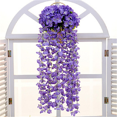 művirágok 1 ág falra szerelt modern kortárs lelkipásztori stílusú hortenzia falvirág