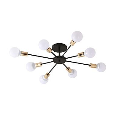 8-Light Vonalizzó Mennyezeti lámpa Háttérfény Galvanizált Festett felületek Fém Új design 110-120 V / 220-240 V