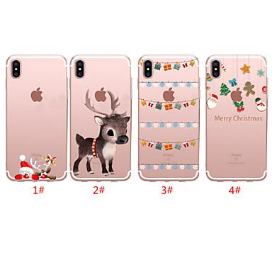 povoljno iPhone maske-Θήκη Za Apple iPhone 11 / iPhone 11 Pro / iPhone 11 Pro Max Translucent / Uzorak Stražnja maska Božić TPU