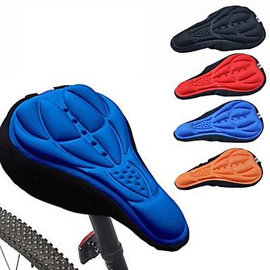 abordables Piezas y Componentes para Bicicleta-Cubierta para Sillín / Colchón Ligero Transpirable Almohadilla 3D Tejido Sintético Ciclismo Ciclismo Recreacional Bicicleta de Piñón Fijo Negro Naranja Rojo