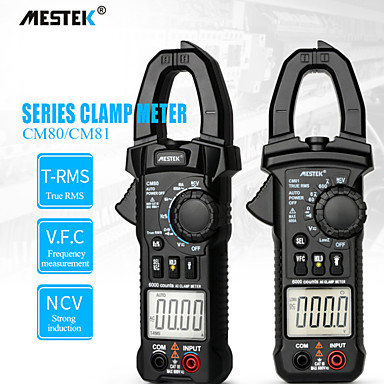 preiswerte Digitale Multimeter und Oszilloskope-MESTEK CM80/CM81 Multimeter klemmen Tragbar Für die Installation bei der Hausinstallation