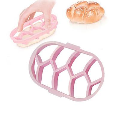 bélyegző tálcánként tészta tekercs sajtó bélyegző kaiser tekercs készítő penész torta kenyér pecsét vágó szerszámok konyhai sütőipari sütéshez