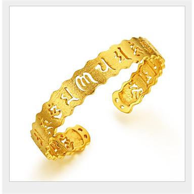 voordelige Dames Sieraden-Heren Cuff armbanden Klassiek Ster Modieus Koper Armband sieraden Goud Voor Feest Festival