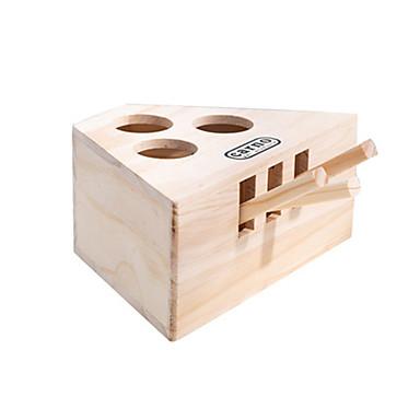 preiswerte Katzenspielzeug-Maus-Spielzeug Katzen Haustiere Spielzeuge 1pc haustierfreundlich Tiere Holz Geschenk
