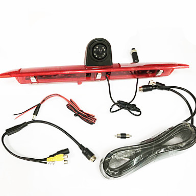 levne Auto Elektronika-1080p wdr 170 stupňů detekce pohybu 170 stupňů zadní pohled kamery ford tranzitní brzdové světlo použití kamery pro model 2014-2015