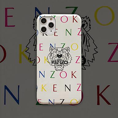 Case Kompatibilitás Apple iPhone 11 / iPhone 11 Pro / iPhone 11 Pro Max Minta Fekete tok Szó / bölcselet / Rajzfilm TPU