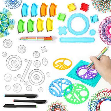 levne Kreslení hračky-Kreslení hračky Spirograph Klasický motiv Obraz Nový design Vynikající Měkký plast Unisex Hračky Dárek 1 pcs