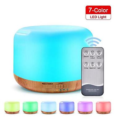 preiswerte Haushaltsgeräte-Fernbedienung 300ml Aroma Diffusor Ultraschall mit wechselnden farbigen LED-Leuchten kühlen Sprühnebel ätherisches Öl Luftbefeuchter
