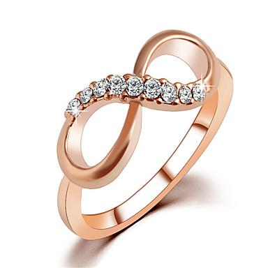 preiswerte Ringe-Damen Ring 1pc Rotgold Aleación Alltag Schmuck Katze Schmetterling Niedlich