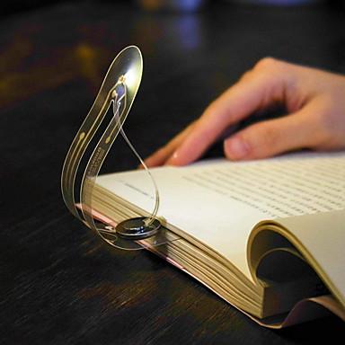 رخيصةأون مصابيح & أباجورات-رقيقة جدا أدى ضوء الليل مرجعية ضوء قابلة للطي منحني كتاب ضوء العين مصباح القراءة مصباح القراءة للقراءة الدراسة