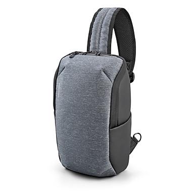 preiswerte Laptop-Taschen und Rucksäcke-Multifunktions kleinen Rucksack Umhängetasche wasserdicht Männer Brusttasche 11 Zoll Laptop ipad Umhängetasche Männer Brusttasche