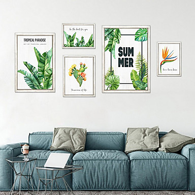 preiswerte Kunstdrucke-Druck Gerollte Leinwand Modern Fünf Panele Kunstdrucke