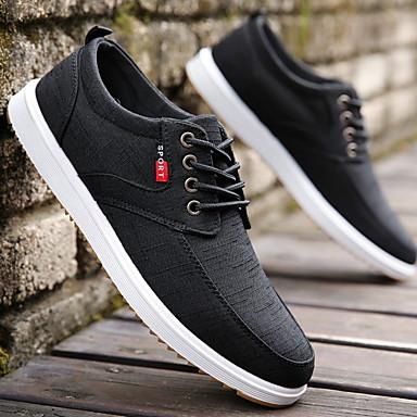 Men's Comfort Shoes Mesh Winter Sneakers Running Shoes Black / Blue / Gray