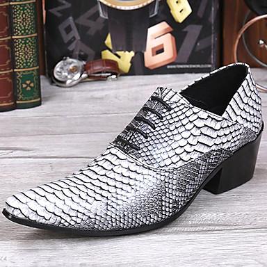 Muškarci Cipele za noviteti Mekana koža Proljeće ljeto / Jesen zima Vintage / Uglađeni Oksfordice Non-klizanje Obala / Zabava i večer