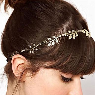 levne Dámské šperky-Dámské Módní Látka Slitina Čelenky Šperky do vlasů Svatebnívečírek Rande