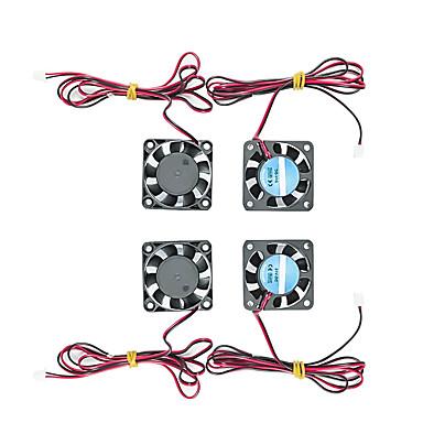 levne 3D části tiskárny a doplňky-Vysokoteplotní chladicí ventilátor pro 24v 4 ks 3d tiskárnu