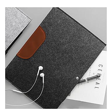 irattartó csomag hordozható, hordozható, tartós, kiváló minőségű gyapjú zsebből készült táska