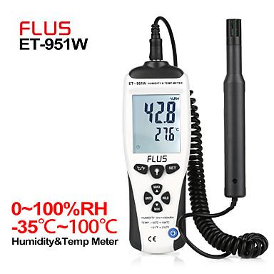 levne Testovací, měřící a kontrolní vybavení-et-951w vlhkost teplota digitální ruční přenosný bezkontaktní LCD displej hygrometr hlídač hustoměru