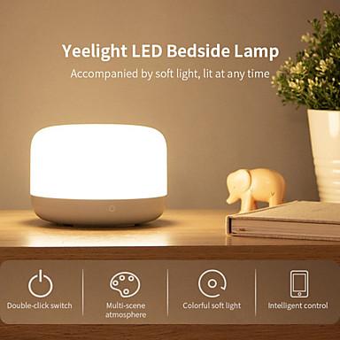 billige Smartlamper-yeelight ylct01yl fargerik LED nattbordslampe intelligent dimbar nattelys app-kontroll apple homekit (xiaomi økosystemprodukt)