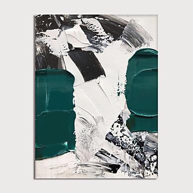 preiswerte Ohne Innenrahmen-Hang-Ölgemälde Handgemalte - Abstrakt Modern Ohne Innenrahmen