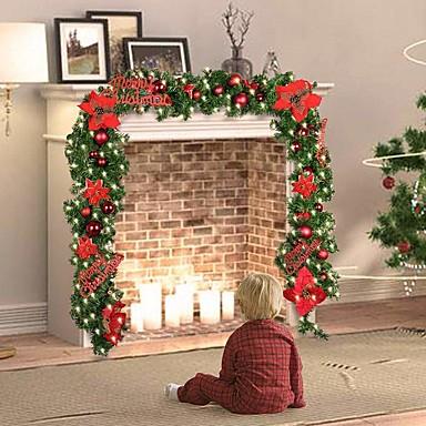 povoljno Vjenčanje-1set božićno drvce Božična rasvjeta Toplo bijelo Božićne ukrase 220-240 V Božić