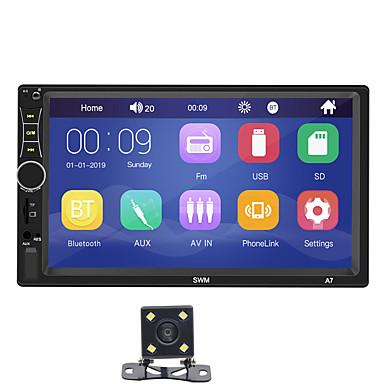 billige DVD-spillere til bilen-SWM A7+4Led camera 7 tommers 2 Din Windows CE Bil MP5-spiller / Bil MP4-spiller / Bil MP3-spiller Pekeskjerm / Innebygget Bluetooth / SD / USB-support til Universell RCA / HDMI / VGA Brukerstøtte