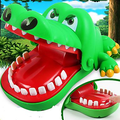 Praktiske spøker Krokodillemønster Stress og angst relief Focus Toy / 1 pcs Barne Alle Gutt Jente Leketøy Gave