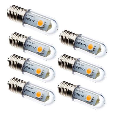 preiswerte LED-Kolbenlichter-7tlg 0.5 W LED Mais-Birnen 15 lm E14 3 LED-Perlen SMD 5050 Dekorativ Warmes Weiß Weiß 100-240 V