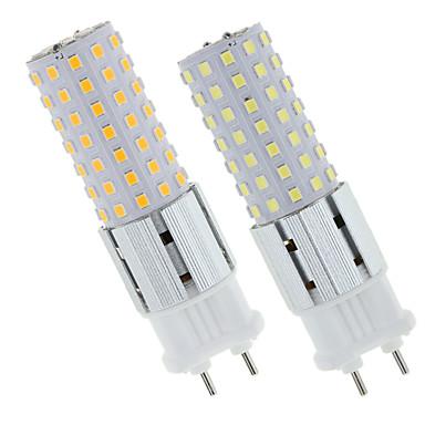 preiswerte LED-Kolbenlichter-2 stücke led lampen g12 15 watt led 96 leds lampe 150 watt g12 weißglühende ersatzlichter led mais lampe für straßenlager warmweiß kaltweiß naturweiß 85-265 v