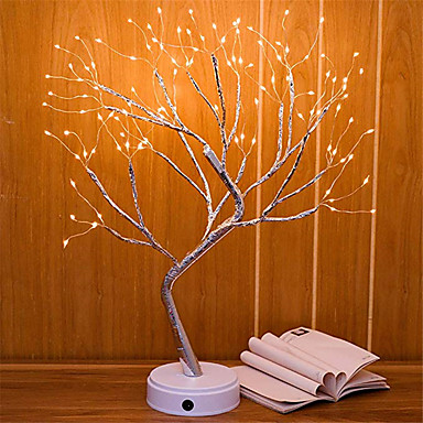 1pcs 108 Leds Night Light Bonsai Tree