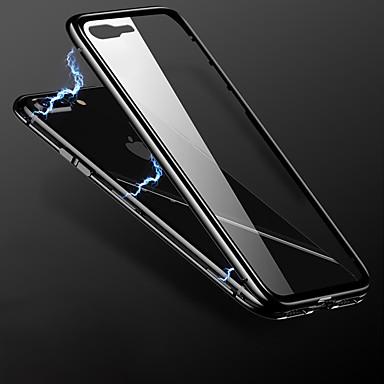 povoljno iPhone maske-Θήκη Za Apple iPhone 8 Plus / iPhone 8 / iPhone 7 Plus Translucent / Wireless Charging Receiver Case Stražnja maska Jednobojni TPU