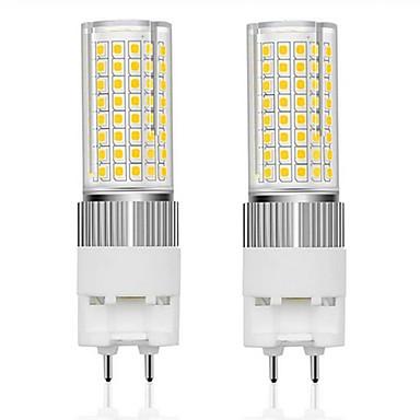 preiswerte LED-Kolbenlichter-2 stücke led lampen g12 16 watt led 120 leds lampe 160 watt g12 weißglühende ersatzlichter led mais lampe für straßenlager warmweiß kaltweiß 85-265 v