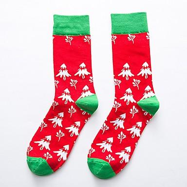 hesapli Kids CollectionUnder $8.99-Çocuklar Genç Kız Geometrik Çoraplar ve Uzun Çorap Beyaz / YAKUT / Ordu Yeşili Tek Boyut