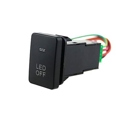 preiswerte Schalterelektronik fürs Auto-blaue led druckschalter mit stecker kabel kit für led off lights toyota