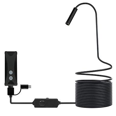 levne Mikroskopy a endoskopy-wifi endoskop fotoaparát mini vodotěsný kabel kontrolní kamery 8mm usb endoskop borescope pro ios iphone android pc tvrdý